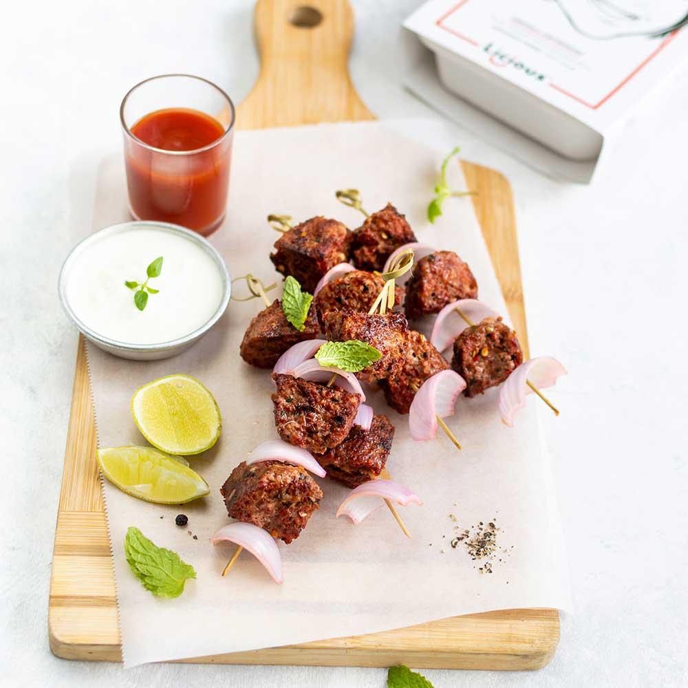 Chapli Kebab Skewers