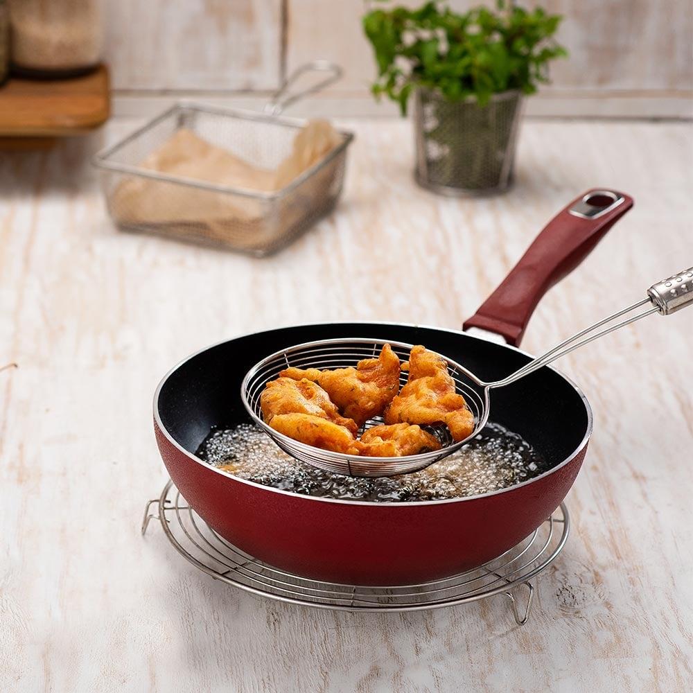 Fiery Fish Pakoda - Cooking Instructions