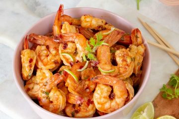 Sweet Chilli Lime Prawn Recipe