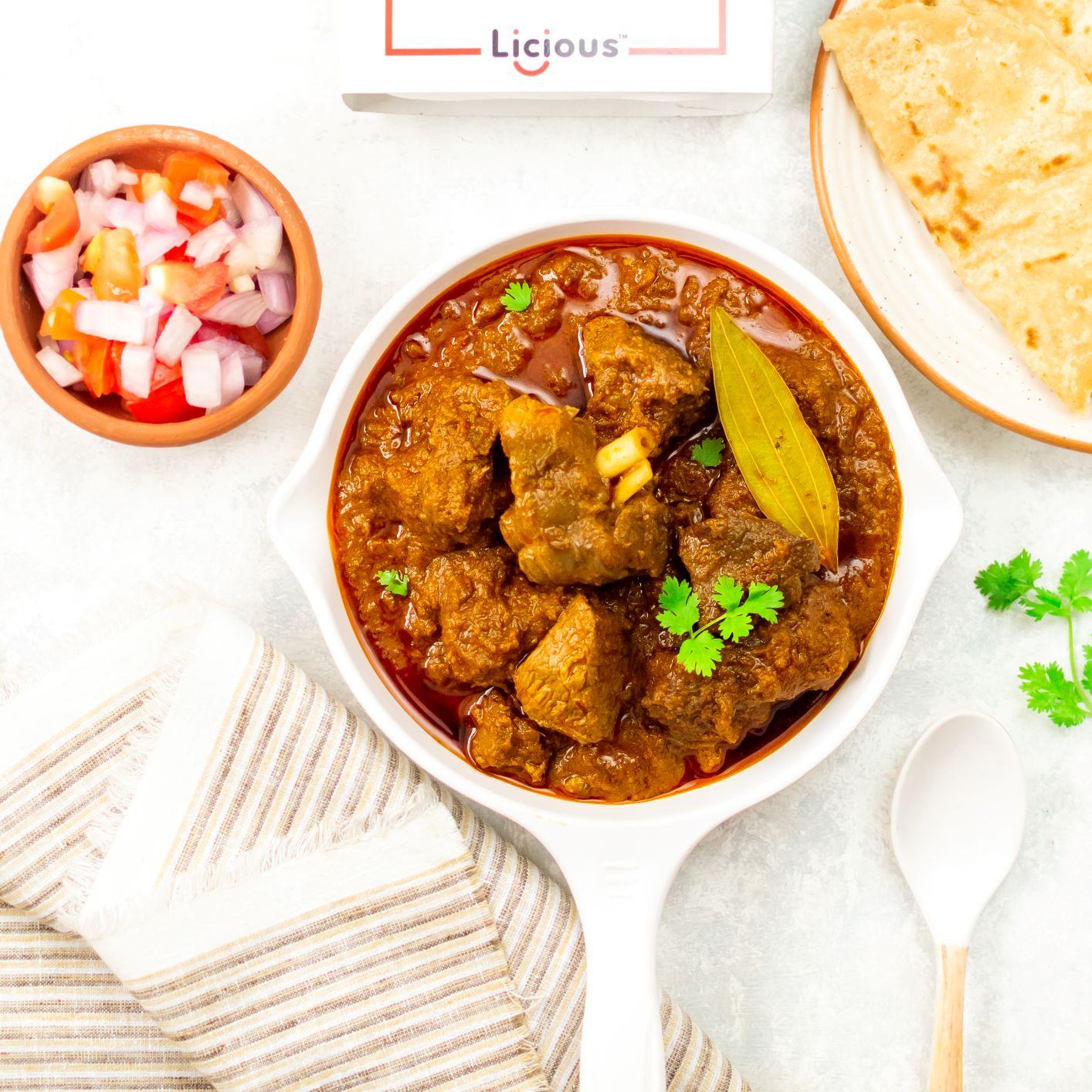 Kolhapuri Goat Curry