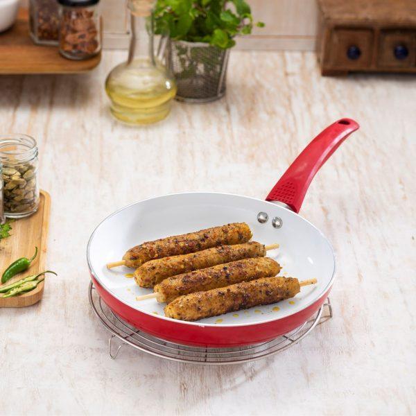 Afghani Murgh Seekh Kebab