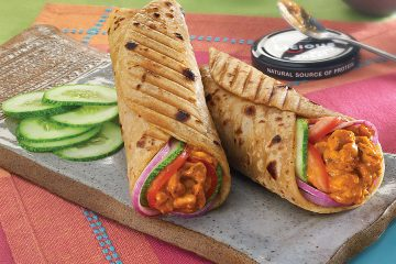 Butter Chicken Wrap Recipe