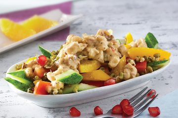 Sprouts Shawarma Chicken salad