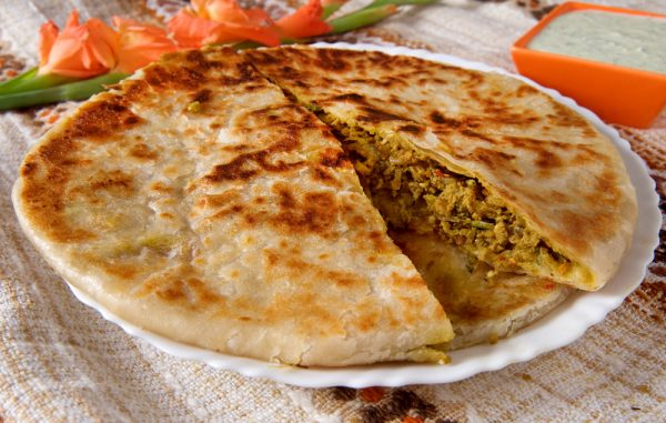 Chicken Kheema Paratha