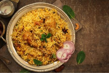 Chicken Leg Biryani Recipe