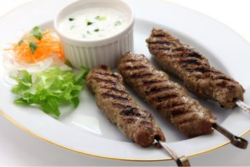 Lamb keema kebab recipe