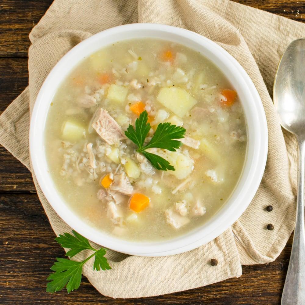 Chicken Barley Soup Recipe