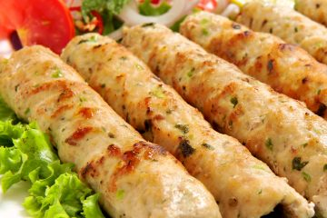 Chicken Seekh Kebab Recipe