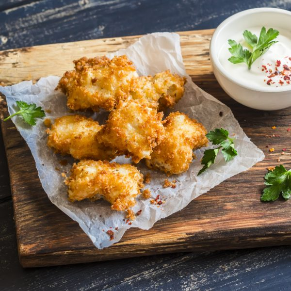 Deep-fried Fish Nuggets Recipe