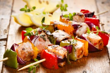 Fish Skewer Kebabs Recipe