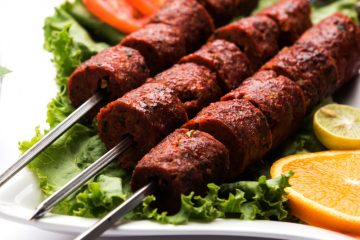 Mutton Seekh Kebabs Recipe