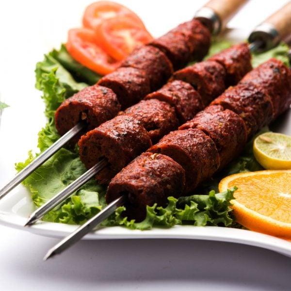 Mutton Seekh Kebabs Recipe