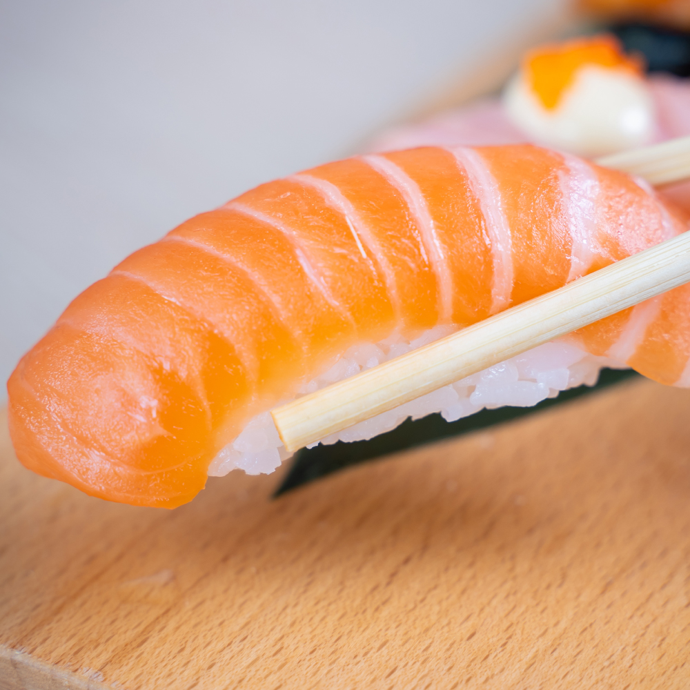 Raw Fish Sushi Recipe