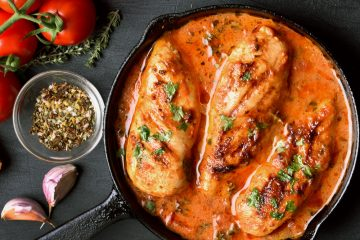 Skillet Chicken in Tomato Sauce Recipe