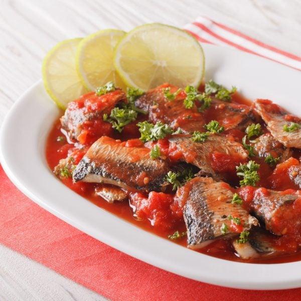 Spicy Sardines in Tomato Sauce Recipe