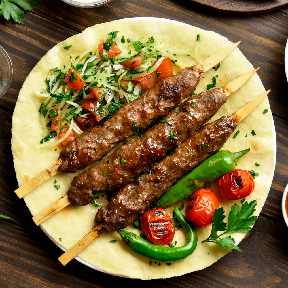 Lamb Turkish Kebab Recipe How To Make Turkish Kebab Recipe Licious