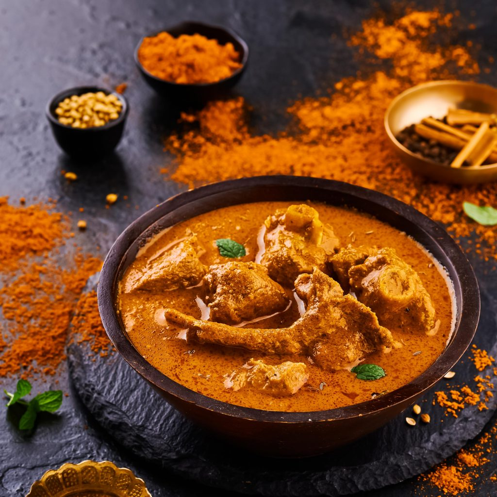 Khada Masala Mutton Curry