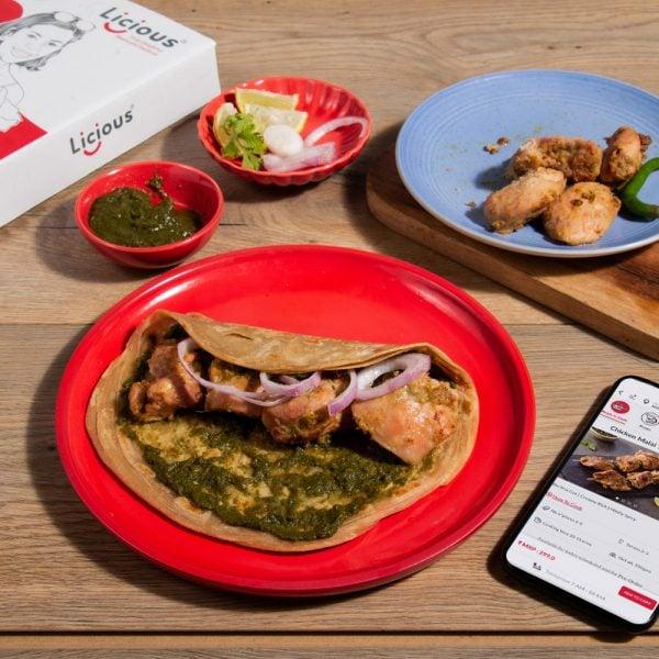 Chicken Malai Tikka Roll