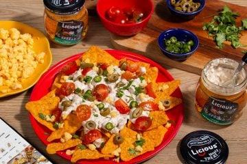 Loaded chicken nachos 5