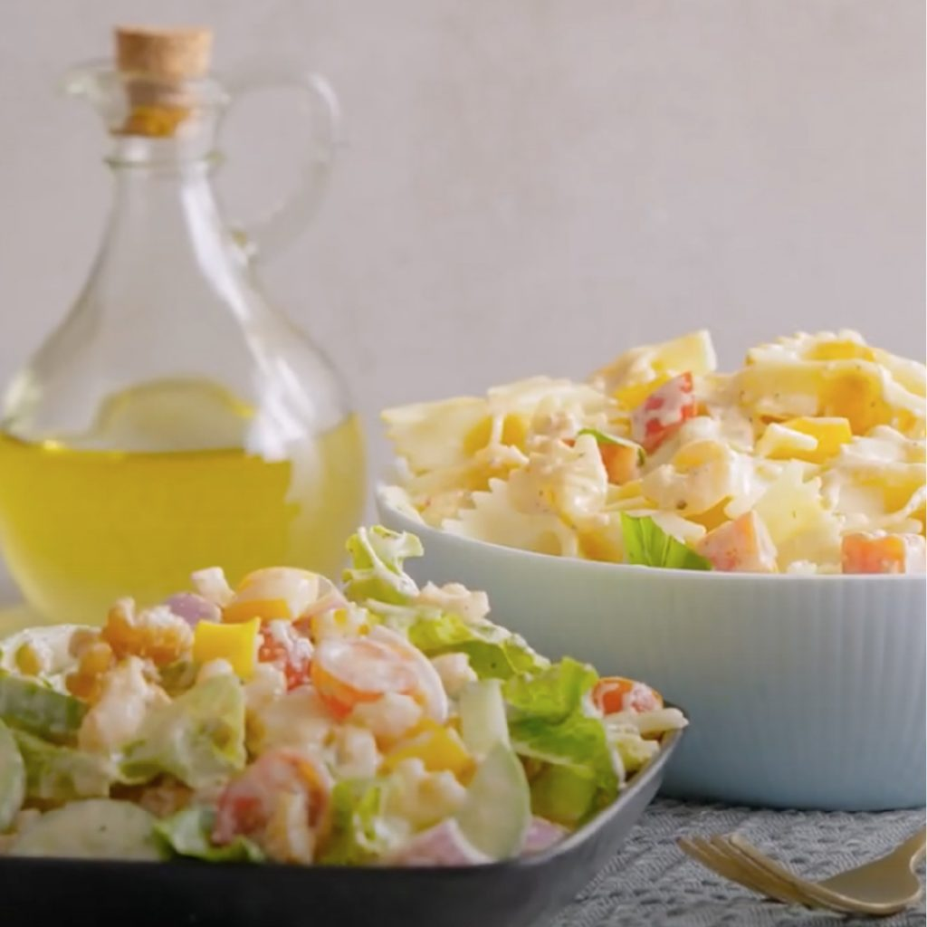 Salad dressing made with Licious spreads