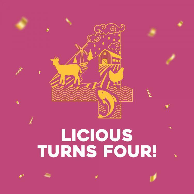 Licious turns four