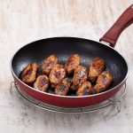 Image of cooked Licious BBQ Chicken Wings