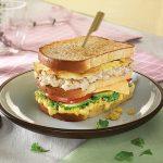 Mustard Club Sandwich