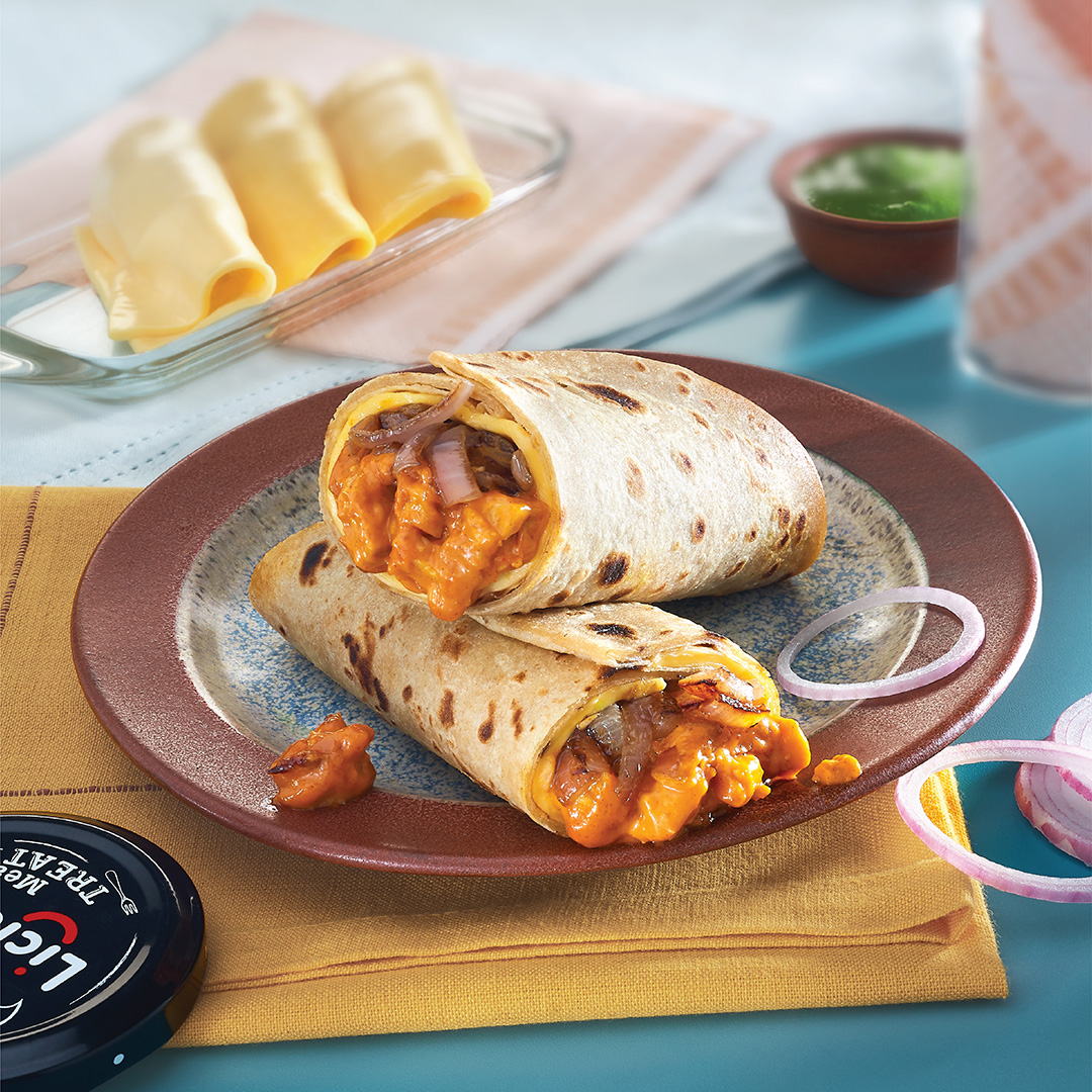 ramzan special  butter chicken kathi roll  licious  blog
